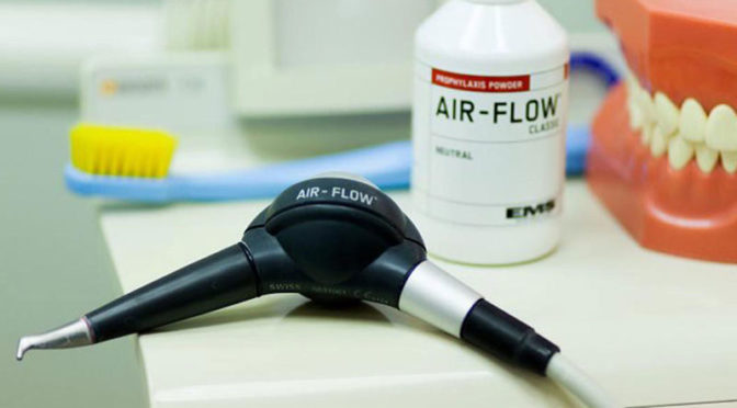 Профессиональная гигиена полости рта - Air-Flow и Cavitron