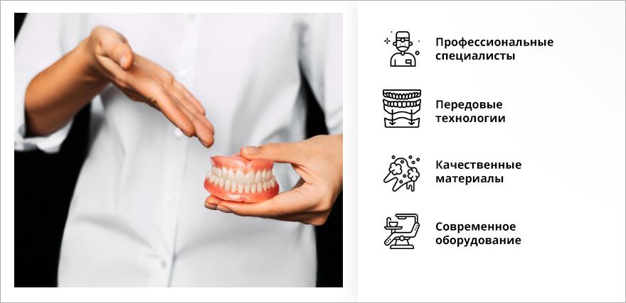 Протезирование зубов в Красногорске